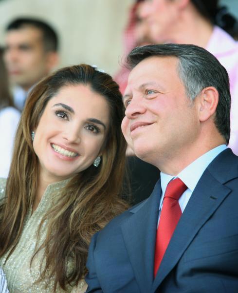Rania de Jordania, enamorada