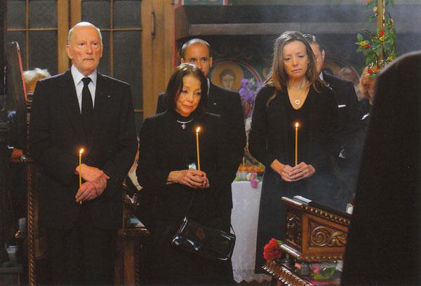 Las imágenes de la misa familiar privada en memoria de Kardam de Bulgaria