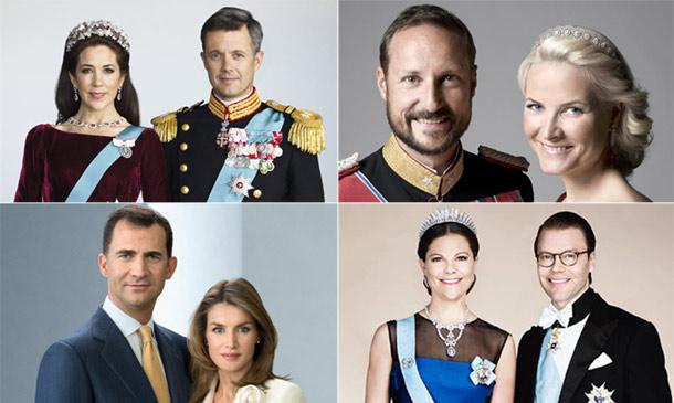 Analizamos los retratos oficiales de gala de la realeza europea