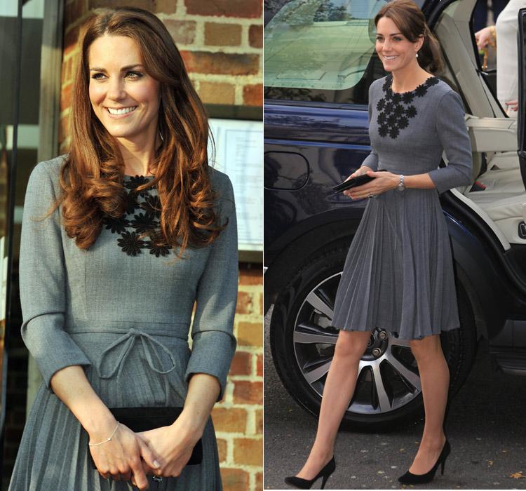 La Duquesa de Cambridge se suma al 'club' de las que no cambian de talla
