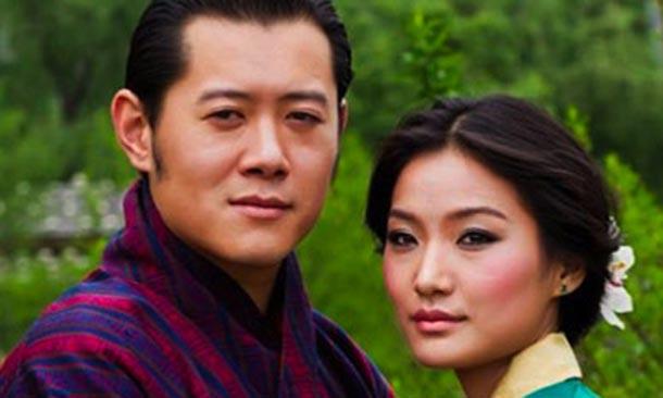 La Reina de Bután está embarazada de su primer hijo