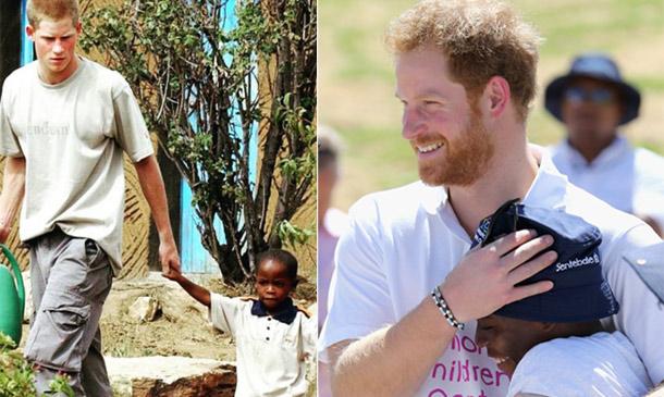 Emotivo encuentro en Lesotho entre el príncipe Harry y Mutsu Potsane, amigos desde hace una década