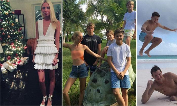 Marie-Chantal de Grecia y su familia regresan a su particular paraíso