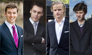 La nueva generación de chicos de la realeza