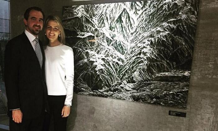 Nicolás de Grecia triunfa como artista ante su admiradora número 1