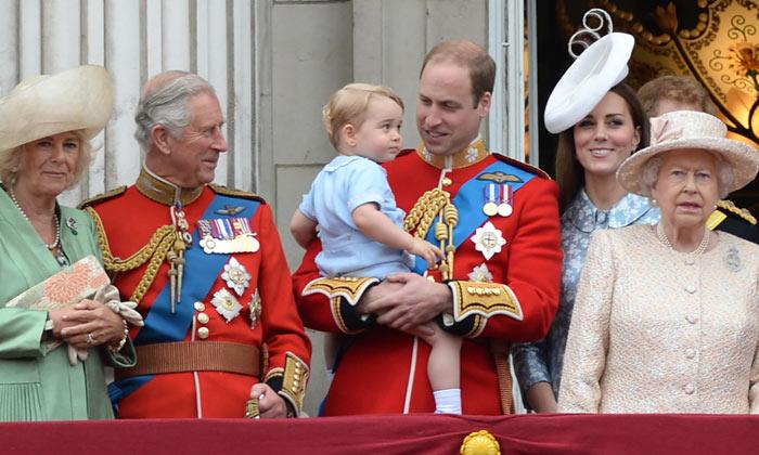La Familia Real inglesa hace piña para celebrar el 90º cumpleaños de Isabel II