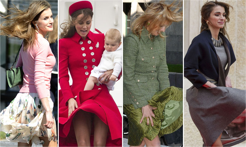 FOTOGALERÍA: Mary de Dinamarca, Máxima de Holanda, Rania de Jordania... 'Reinas' contra viento y marea