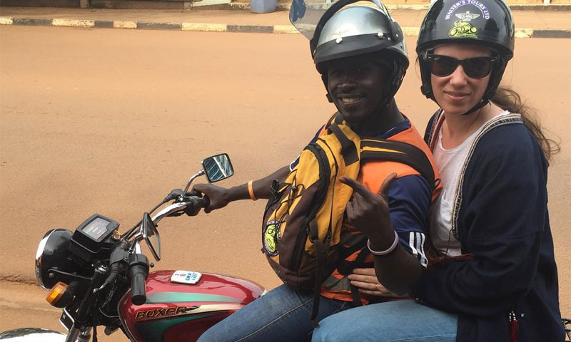 Tatiana Santo Domingo, una 'princesa' en 'mototaxi' en su última gran aventura
