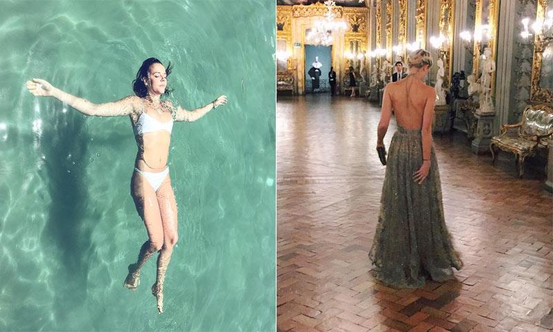 Dos 'princesas' de Nueva York y dos estilos... ¡Una aparece y la otra desaparece!