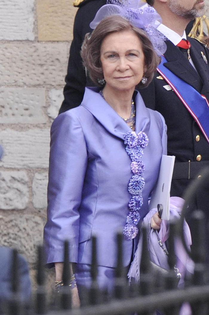 Importante presencia de la reina Sofía en \'la boda del año\' en Reino ...