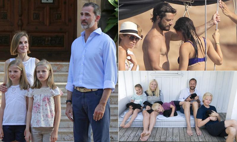 La reina Letizia, Magdalena de Suecia, Máxima de Holanda... y sus destinos 'reales' de vacaciones