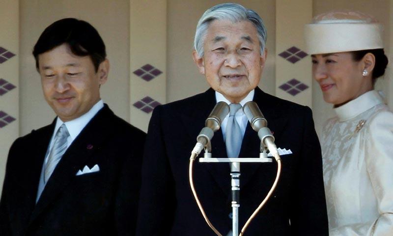 Akihito de Japón desmiente sus planes de abdicación