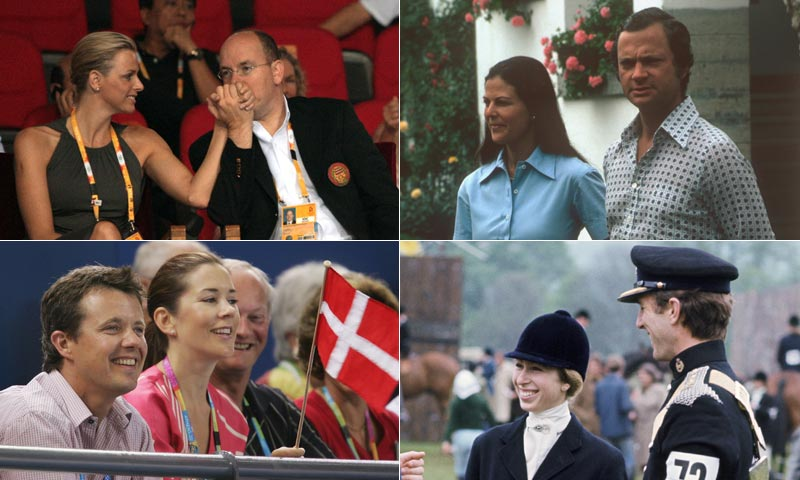 Los romances reales que comenzaron en los Juegos Olímpicos