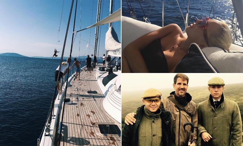 Pablo y Marie-Chantal de Grecia, vacaciones familiares en las islas de su vida