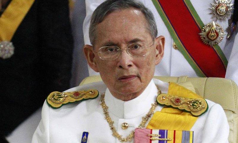 Fallece el rey de Tailandia a los 88 años