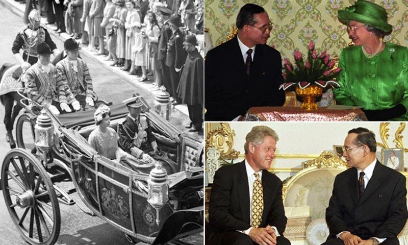 FOTOGALERÍA: Bhumibol Adulyadej, el inesperado destino de un hombre extraordinario