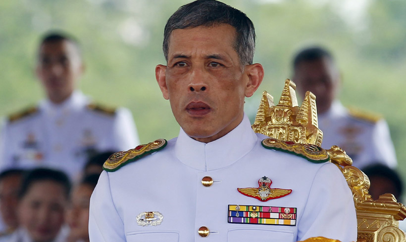 El príncipe Vajiralongkorn, heredero al trono de Tailandia