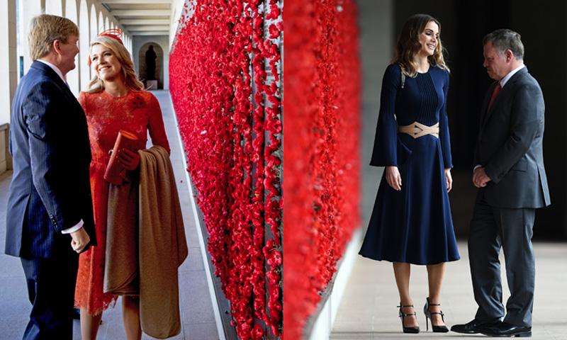 Dos reinas y un destino: Máxima y Rania compiten en estilo en Australia