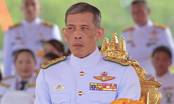 Tras el fallecimiento de su padre, Rama X es proclamado Rey de Tailandia