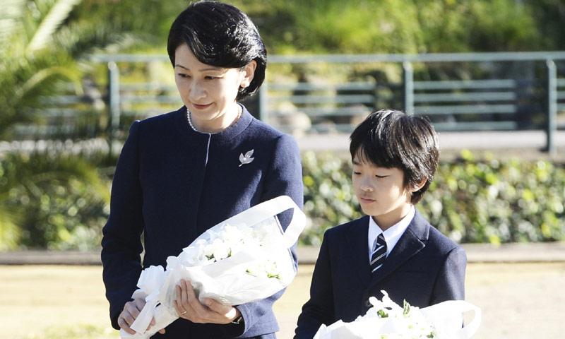 Hisahito de Japón vuelve a la vida pública tras el susto vivido