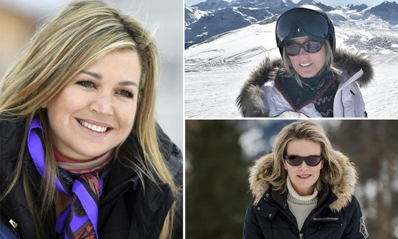 'Glamour' en la nieve: reinas y princesas desfilan con las tendencias de esquí