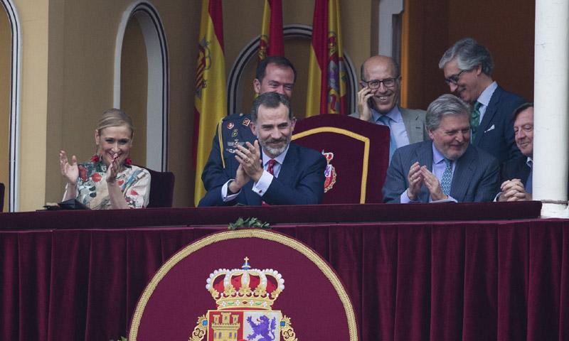 Felipe VI preside su primera Corrida de la Beneficencia desde que es Rey