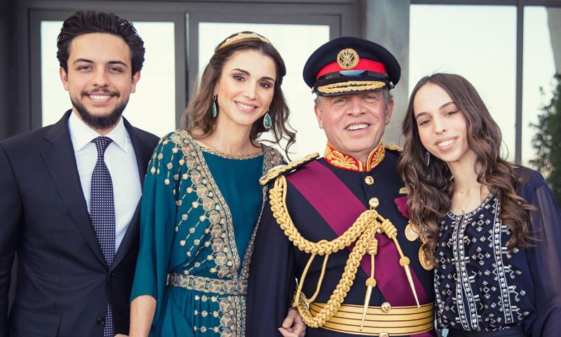 La desconocida habilidad musical de los príncipes de Jordania