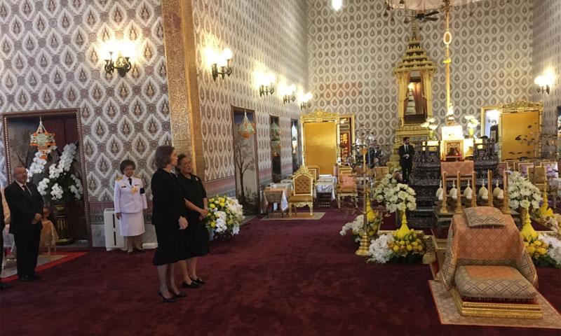 La realeza despide al rey de Tailandia, Bhumibol Adulyadej