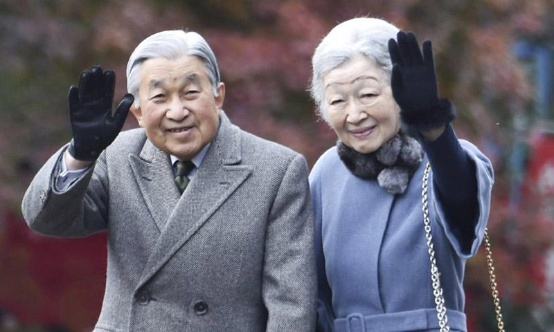 Japón anuncia que el emperador Akihito abdicará en abril de 2019