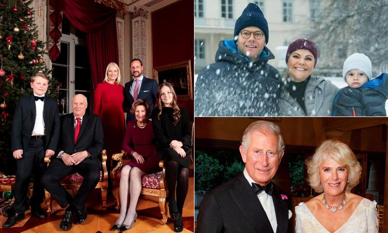 ¡Feliz Navidad! Así nos felicita las fiestas la realeza europea