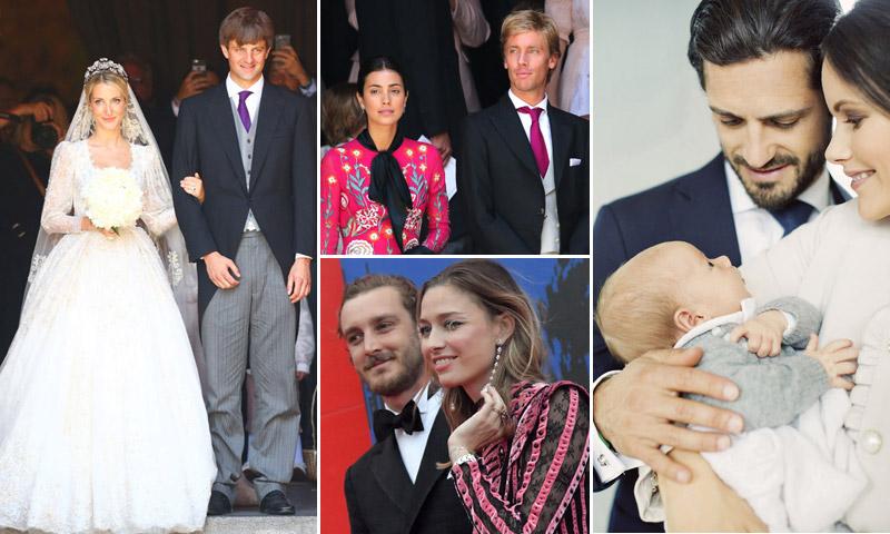 Bodas, nacimientos y divorcios de la realeza en 2017