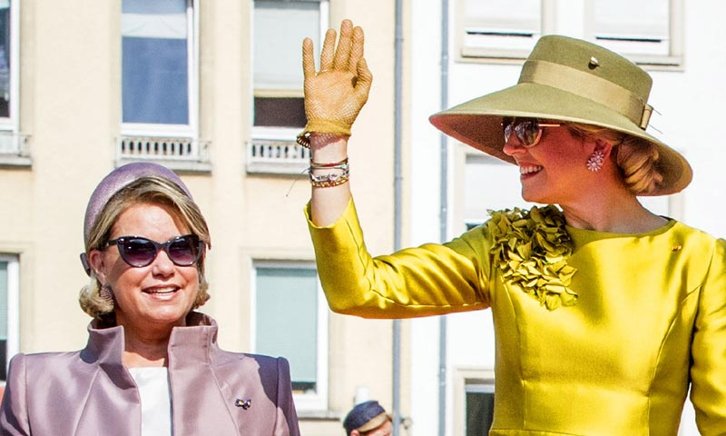 María Teresa de Luxemburgo y Máxima de Holanda, un mismo latir