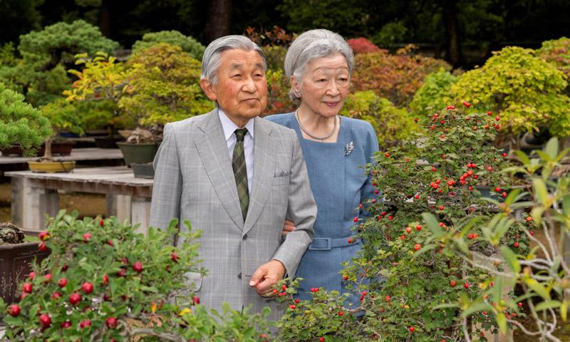 Los Emperadores de Japón, 'afligidos' por las especulaciones sobre la boda de su nieta