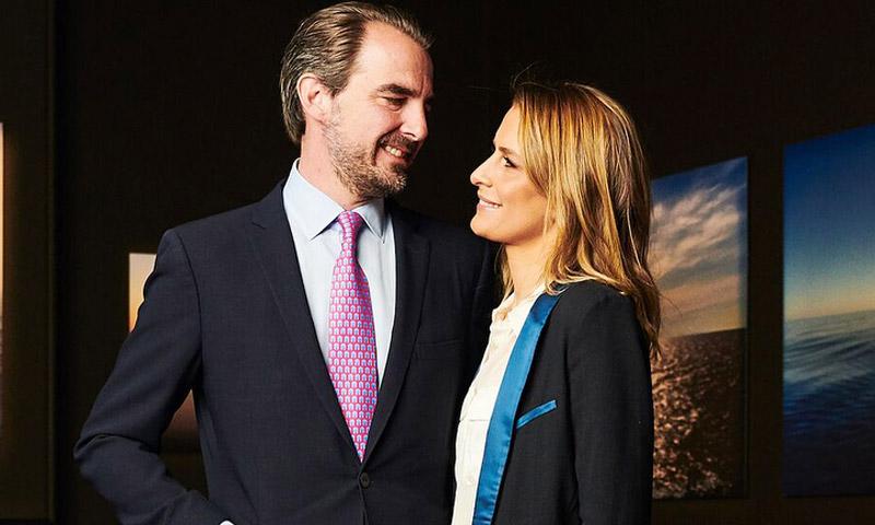 ¡Con Grecia como musa! El príncipe Nicolás presenta su primera exposición en solitario