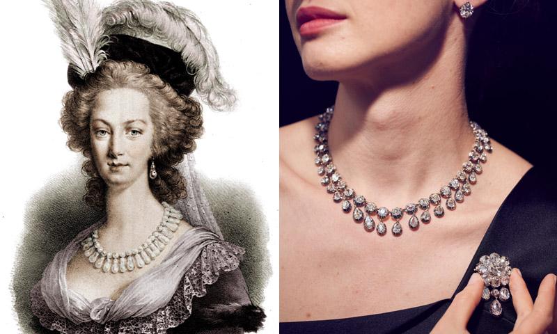 Salen a subasta las joyas de María Antonieta, la reina de Francia que terminó en la guillotina