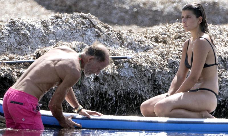 Kyril de Bulgaria y su hija Mafalda surcan las olas en Mallorca