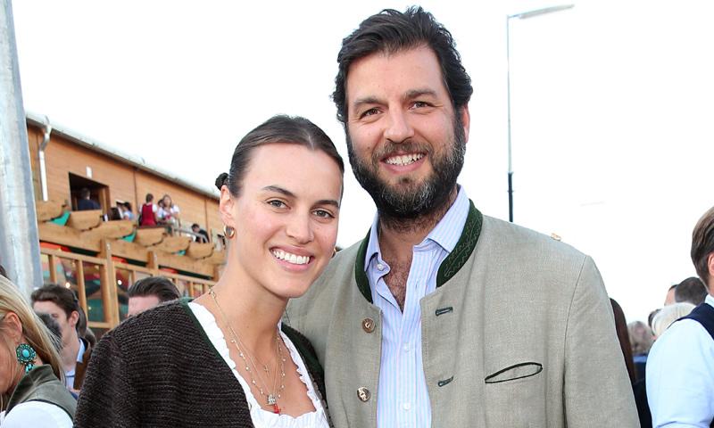 El príncipe Casimir Sayn-Wittgenstein y su prometida, Alana Bunte, celebran el Oktoberfest antes de su boda