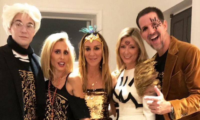 Pablo y Marie-Chantal de Grecia, en la fiesta de Halloween más exclusiva y alocada de Nueva York