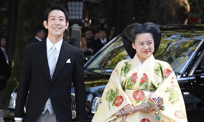 Princesa japonesa renuncia a su título para casarse con un plebeyo
