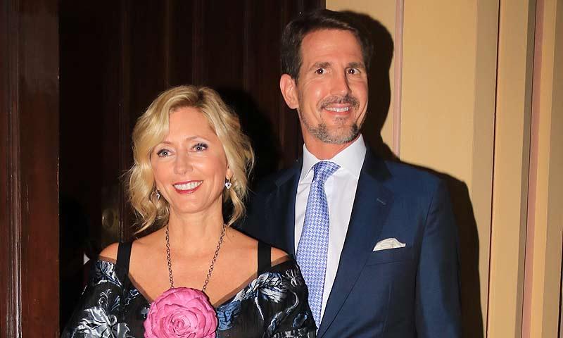Pablo y Marie-Chantal de Grecia reciben el Año Nuevo en Bahamas, el refugio invernal preferido de los 'royals' (incluidos don Felipe y doña Letizia)