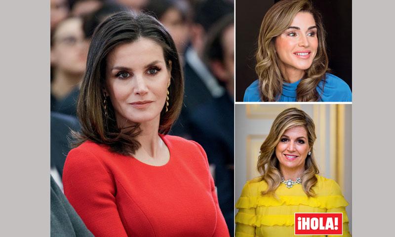 En ¡HOLA!, los secretos de belleza de las Reinas a examen