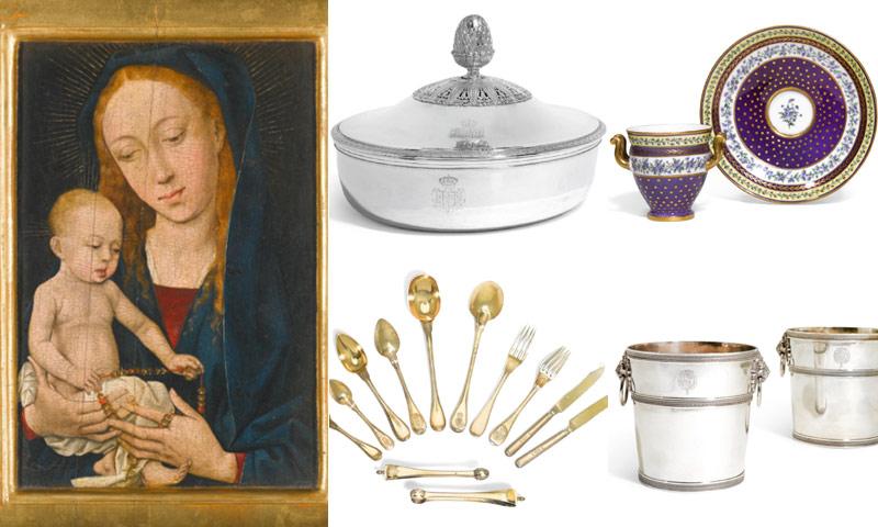 Nueva gran subasta de los tesoros de la familia Borbón-Parma