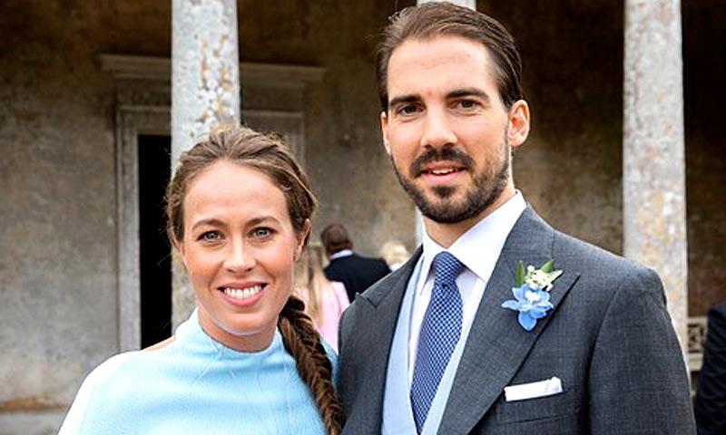 Felipe de Grecia y Nina Flohr celebran su amor en el 'Nido del Águila', la fabulosa mansión de los Flohr en Sankt Moritz