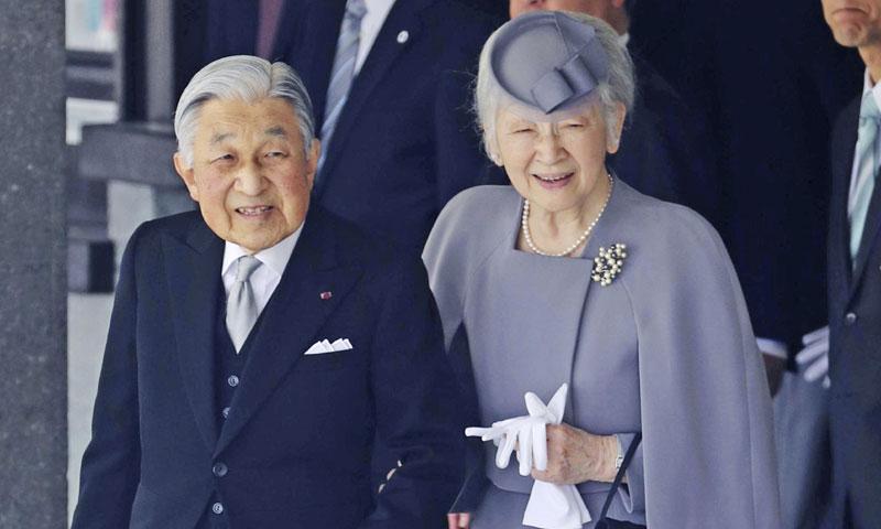 Comienzan los primeros rituales: Akihito de Japón informa a sus ancestros de su abdicación