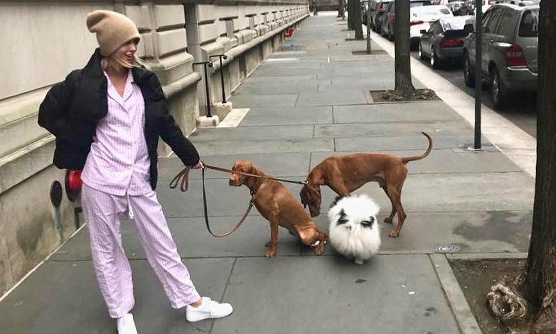 Olympia de Grecia, una princesa en pijama por las calles de Nueva York