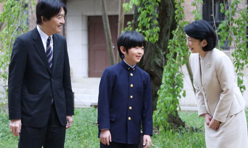 Hisahito de Japón, el joven príncipe que un día será emperador