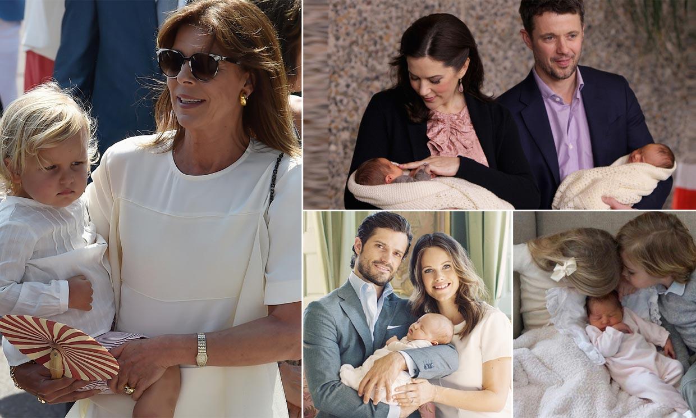 Así han anunciado los miembros de la realeza el nacimiento de sus hijos