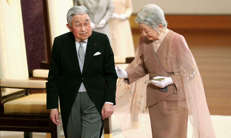 Los emperadores de Japón celebran su 60 aniversario de matrimonio, el último antes de la abdicación