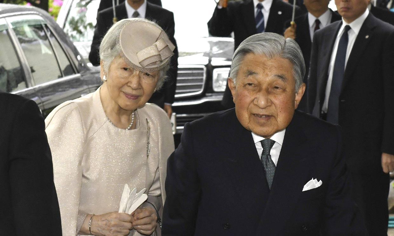 Akihito y Michiko de Japón protagonizan sus últimos actos en plena cuenta atrás para la abdicación