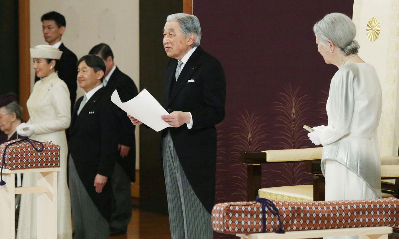 Así ha sido la histórica abdicación de Akihito de Japón